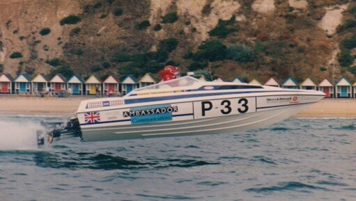 Remodelling Offshore Powerboat Racing | Adrian Bright
